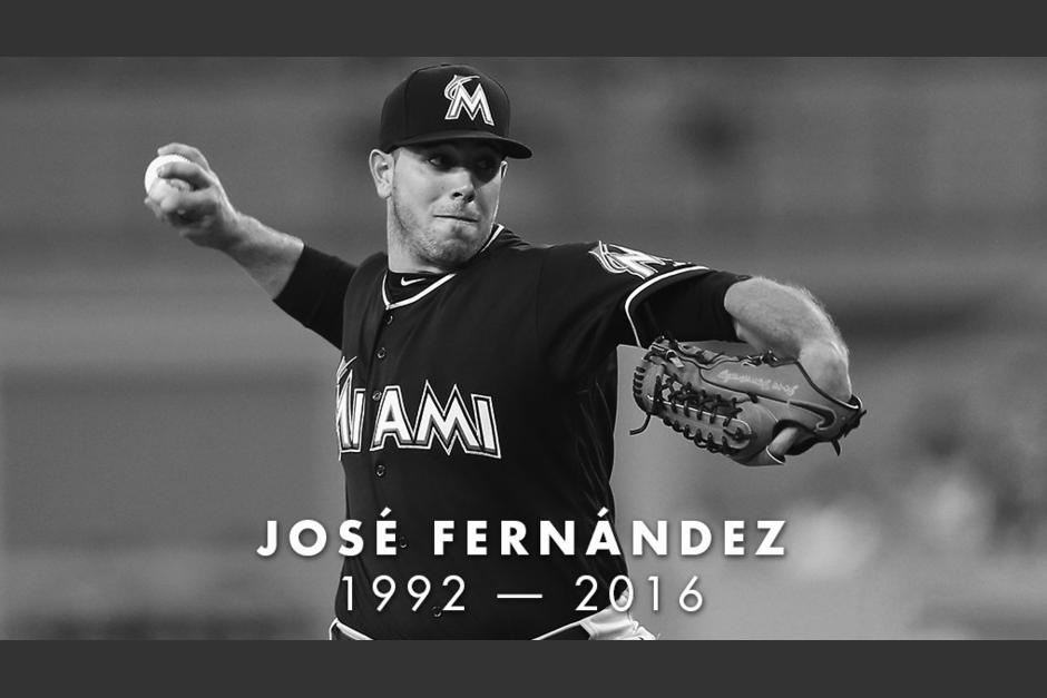 El jugador de béisbol José Fernández falleció en un accidente. (Foto: Twitter)