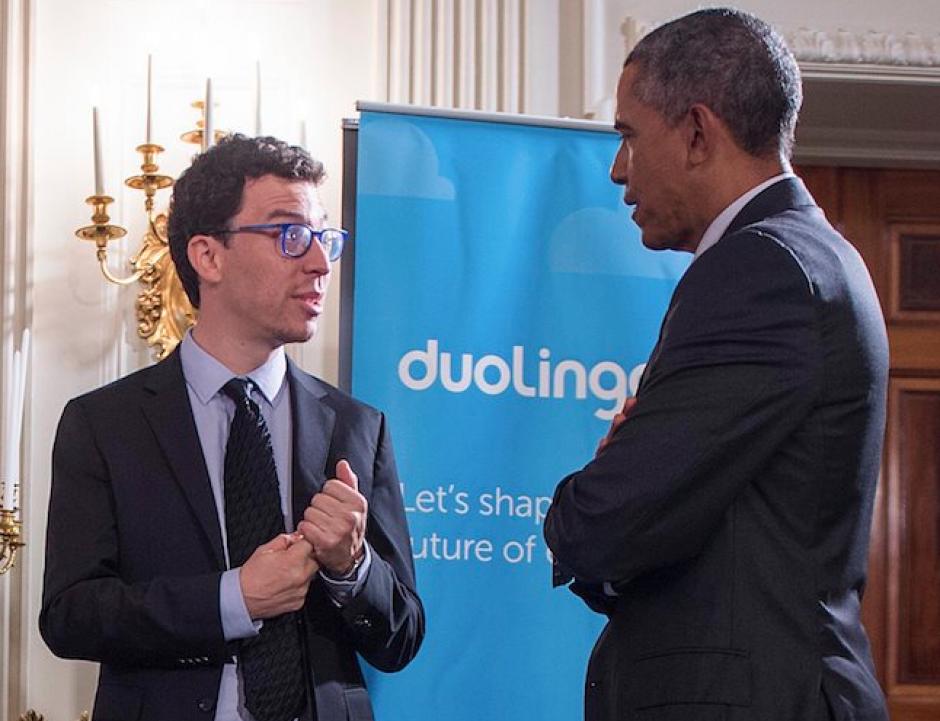 El guatemalteco tuvo la oportunidad de reunirse con Barack Obama en agosto de 2015. (Foto: Facebook)
