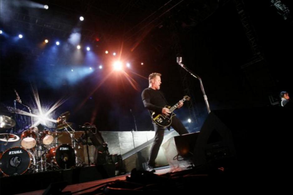 El concierto de Metallica en el país será en noviembre. (Foto: www.tn8.tv)
