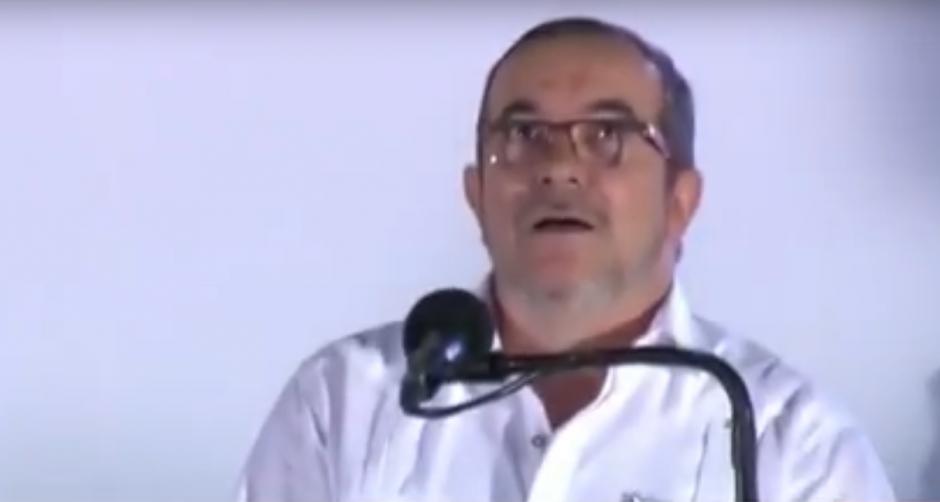 """""""Timochenko"""" se asustó al escuchar los aviones del ejército colombiano. (Foto: captura de pantalla)"""