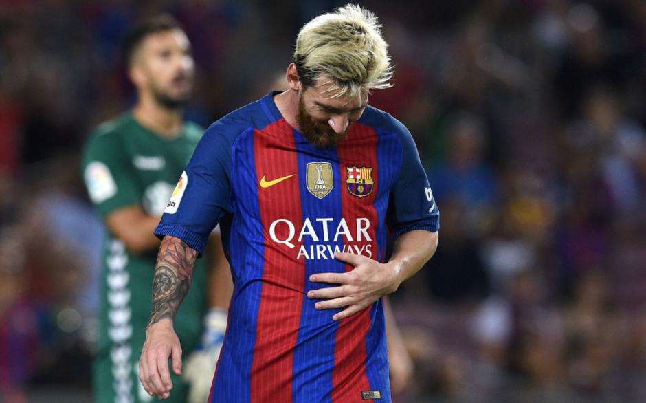 Leo no pudo viajar con el equipo debido a su lesión muscular. (Foto: Flipboard)