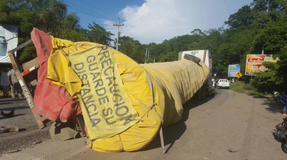 Las autoridades se encuentran evaluando la reparación. (Foto: Dalia Santos)