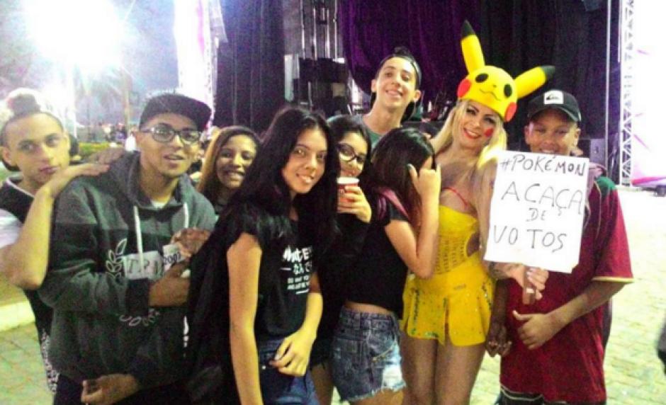 Karina Gazano quiere ser concejal de Santos, Brasil. (Foto: Instagram)