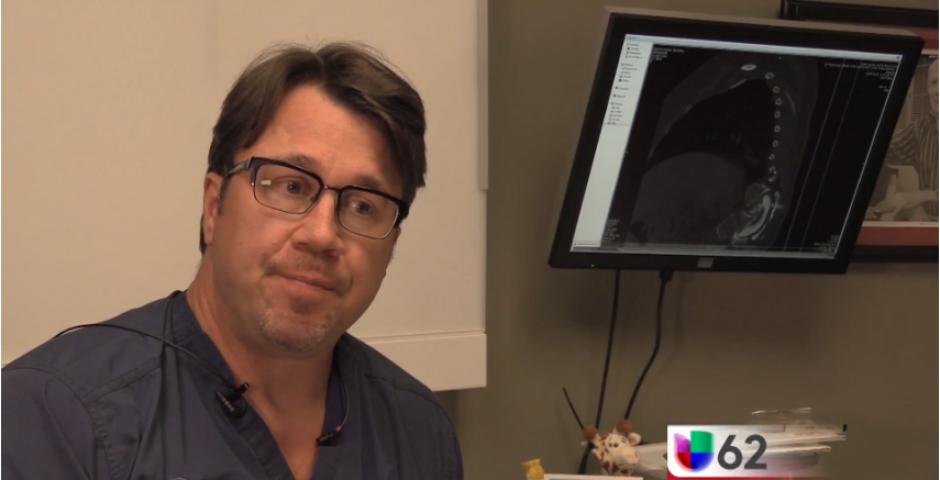 La cirugía será el próximo 11 de octubre para corregir el problema de salud. (Captura Youtube)