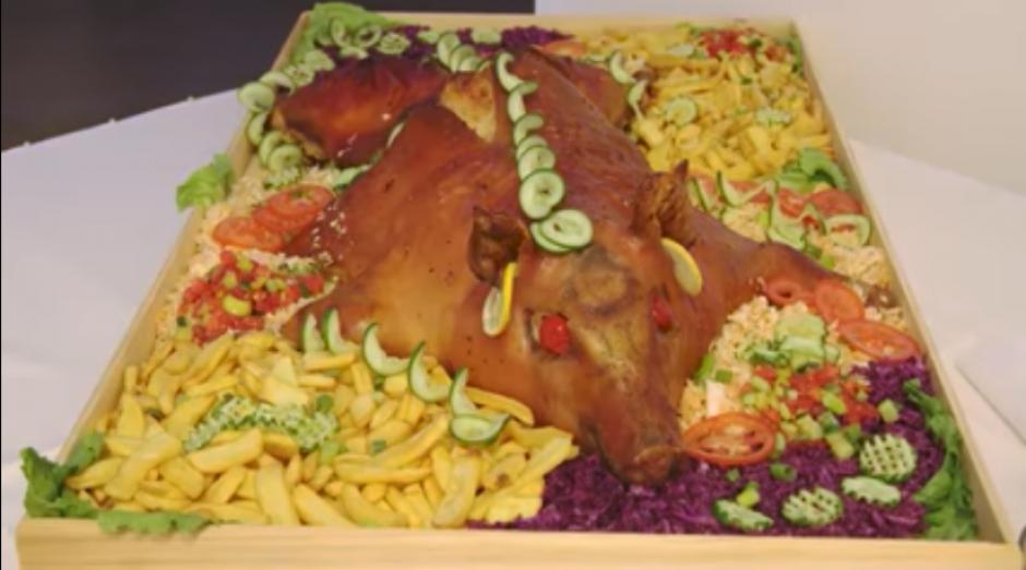 Los gustos culinarios tampoco podían escapar a las excentricidades. (Captura Youtube)