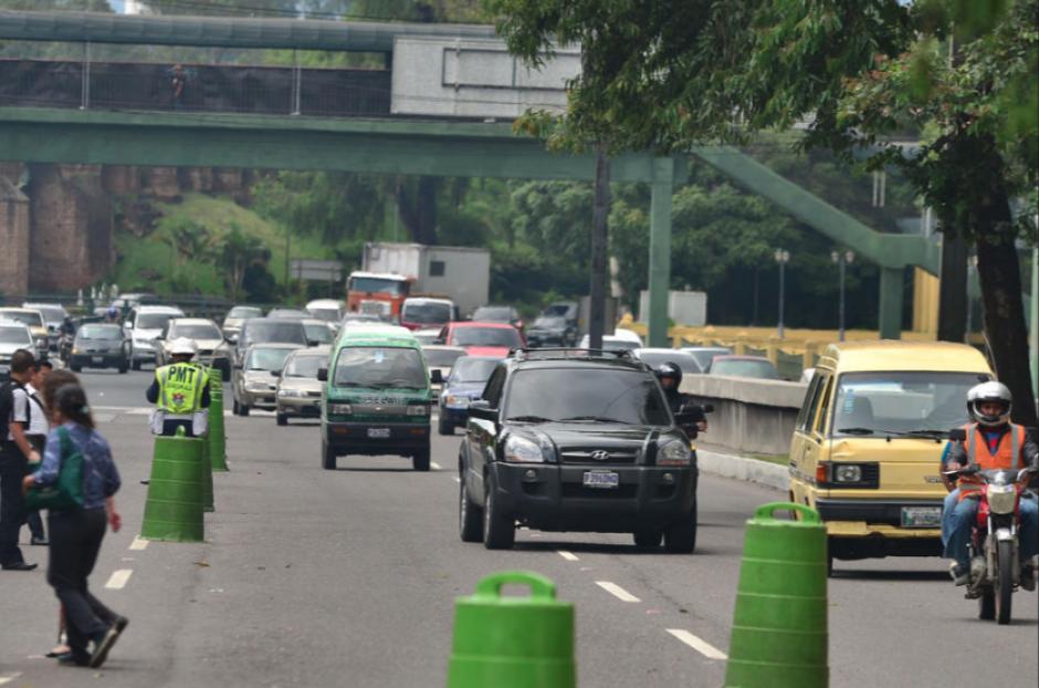 Se habilitarán corredores específicos para poder agilizar el tráfico. (Foto: Archivo/Soy502)