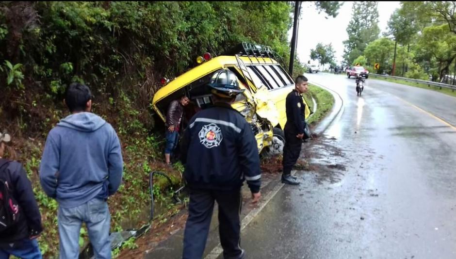 Los Bomberos Voluntarios atendieron la emergencia. (Foto: Bomberos Voluntarios)