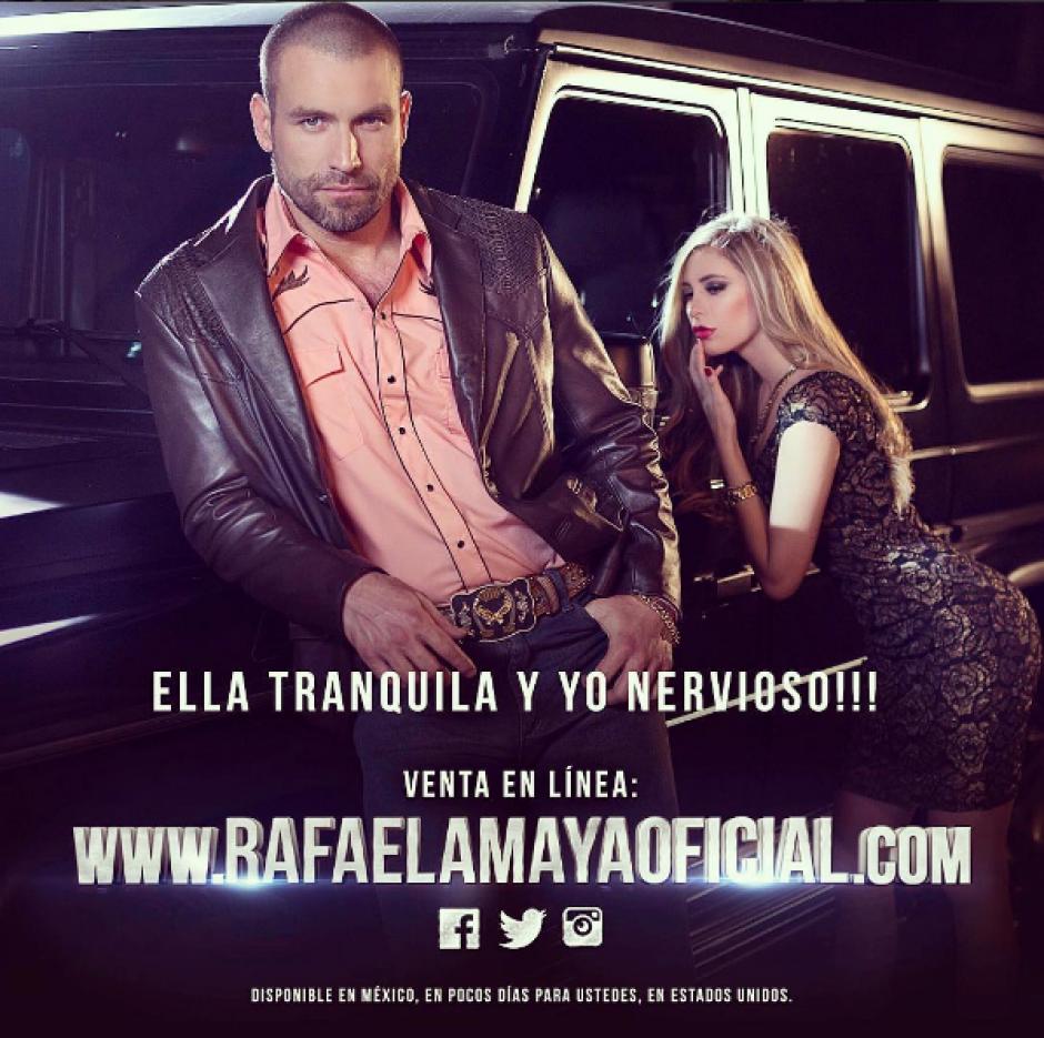 """La guapa Ileana Salas trabajó junto a Rafael Amaya quien da vida al """"Señor de los Cielos"""". (Foto: Instagram)"""