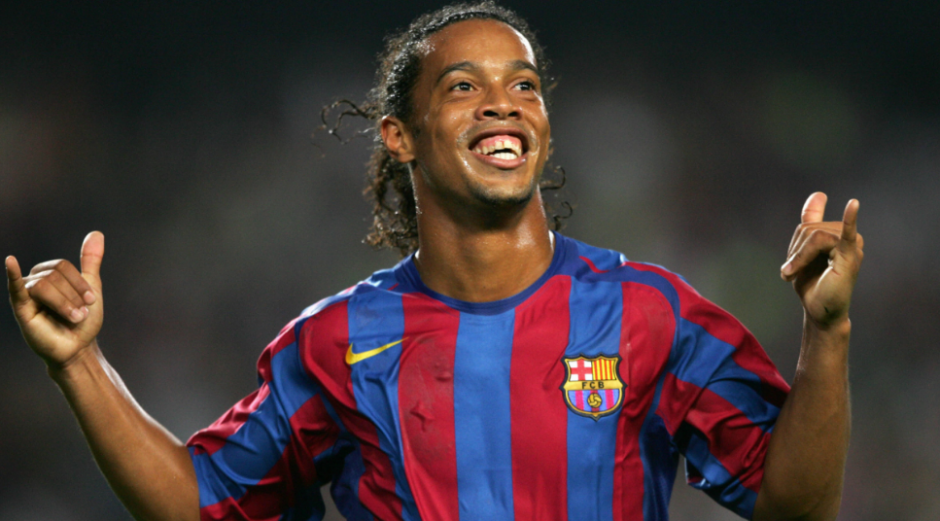 Ronaldinho en 2006, el año en el que ganó la Champions. (Foto: Fox Sports)