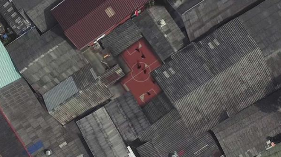 Los terrenos de juego se adaptan a cualquier área. (Foto: Infobae)