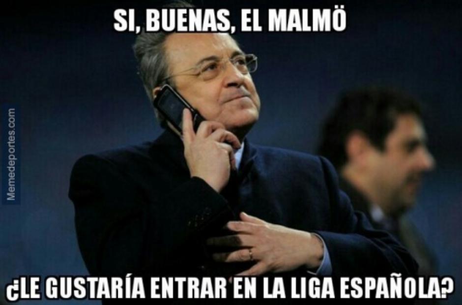 Florentino y sus llamadas...(MemeDeportes)