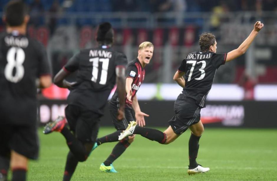 Locatelli no lo creía cuando metió el gol. (Foto: Gazzetta.it)