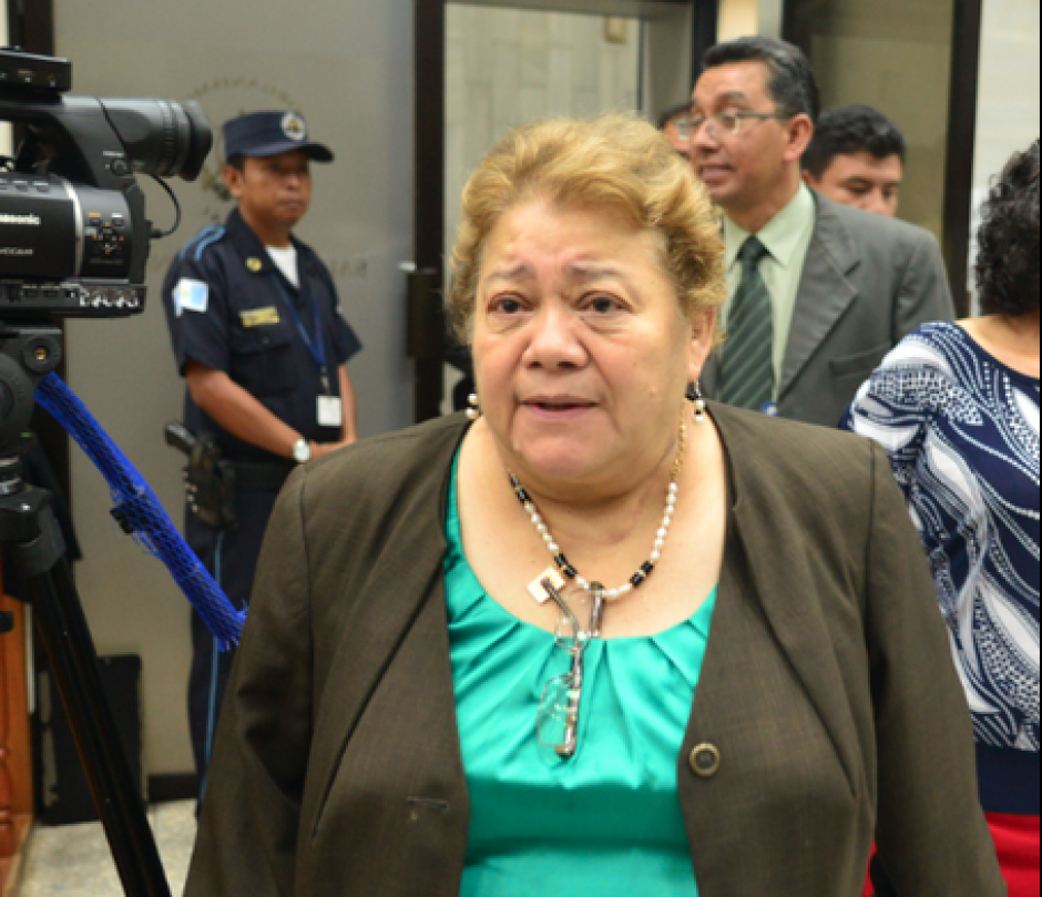 Martha Sierra, quien estaba a cargo del Juzgado Octavo, es señalada de prevaricato y cohecho pasivo. (Foto: Archivo/Soy502)