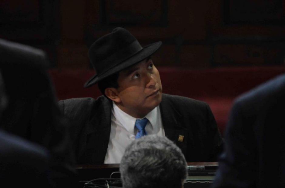 El diputado de Winaq, Amílcar Pop, es señalado de impedir la captura de dos personas. (Foto: Archivo/Soy502)