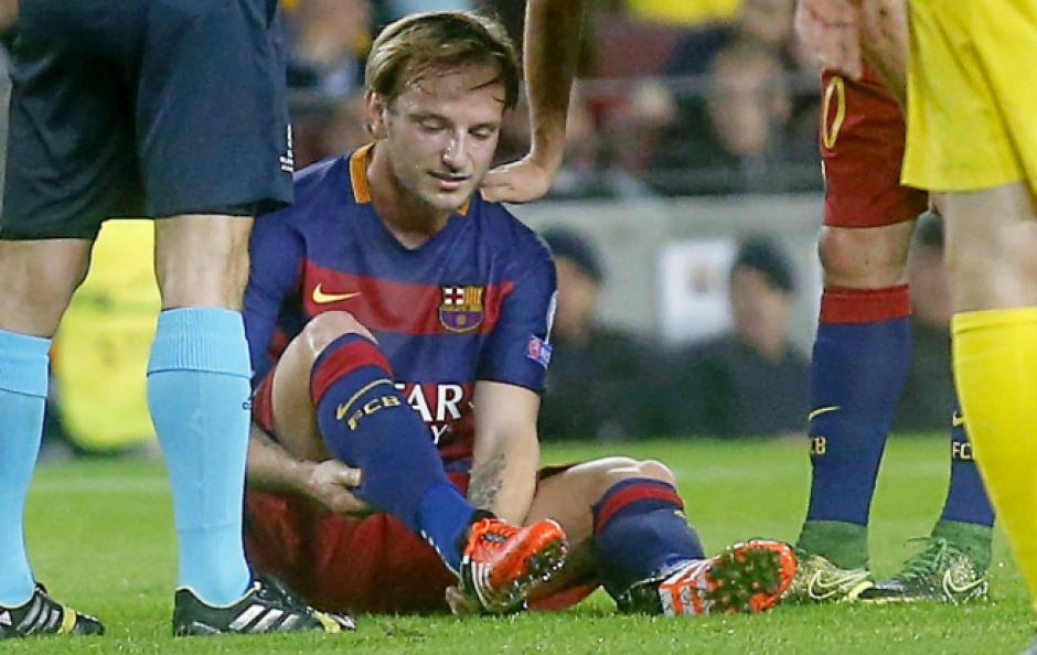 Rakitic tiene una lesión en el tendón de Aquiles. (Foto: Marca)