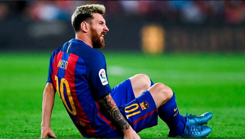 Messi cayó lesionado el 21 de septiembre contra el Atleti. (Foto: Mundo Deportivo)