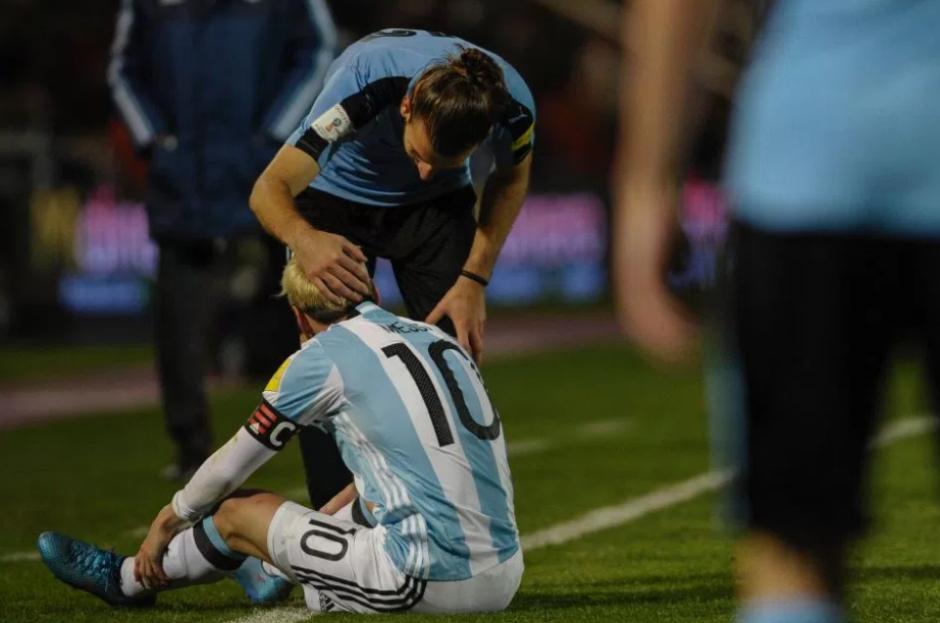 El argentino no jugará contra Perú ni Paraguay. (Foto: AFP)
