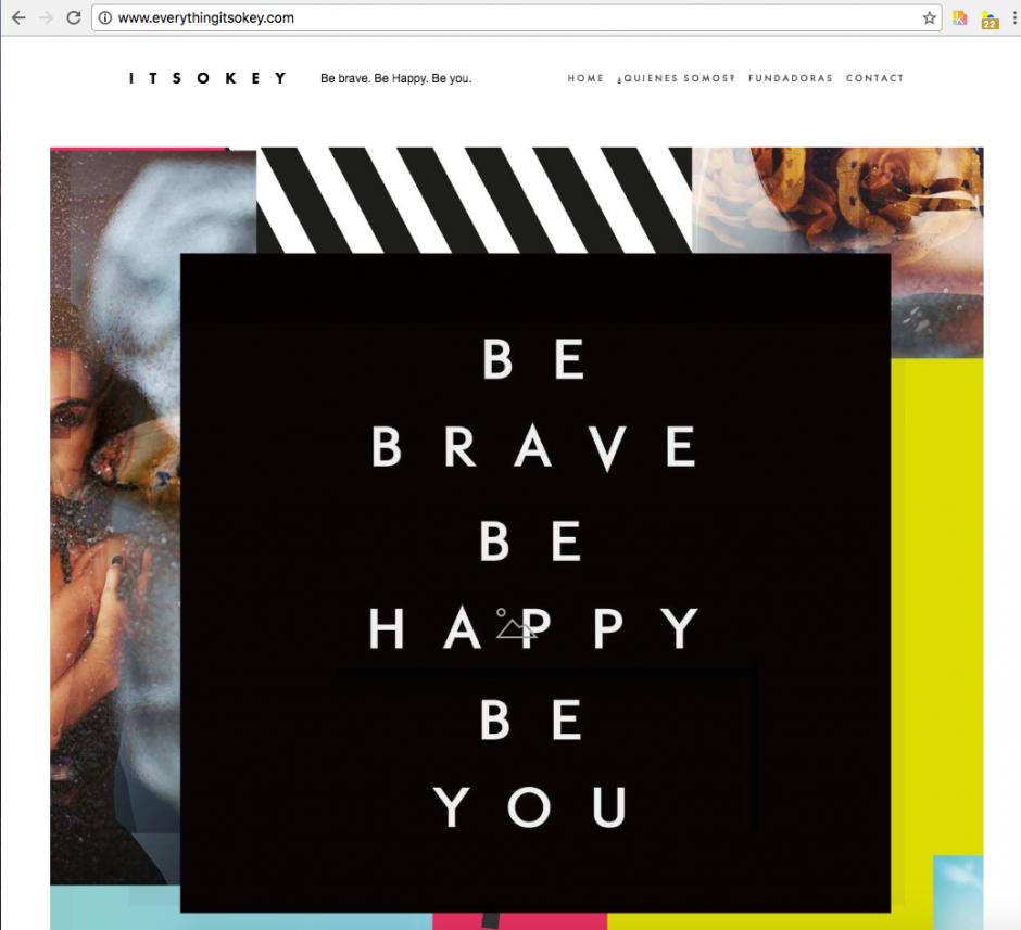 Con este artículo ella hace el lanzamiento oficial de blog: It's okey. (Foto: Captura de pantalla)