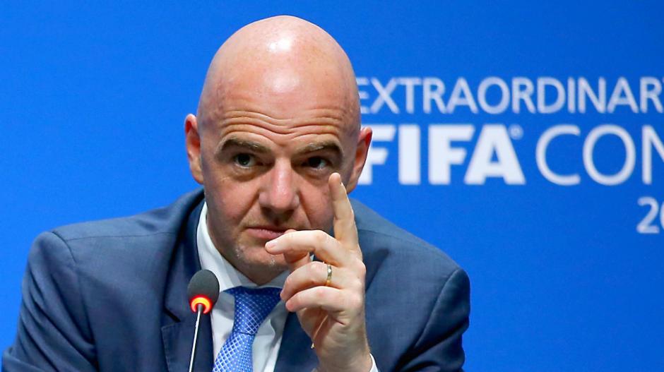 """Gianni Infantino, presidente de la FIFA, quiere """"desarrollar el fútbol en todo el mundo"""". (Foto: FIFA.com)"""