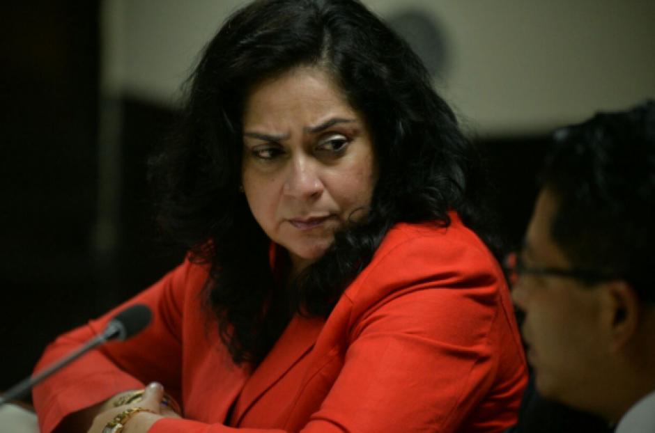 La exjueza Jisela Reinoso fue condenada por los delitos de lavado de dinero y enriquecimiento ilícito. (Foto: Wilder López/Soy502)