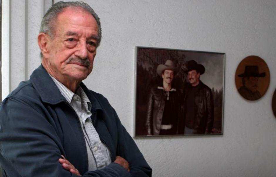 Mario Almada realizó más de 300 películas, la mayoría de acción. (Foto: López Dóriga)