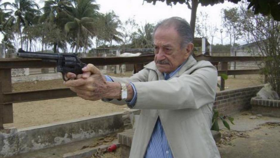 Mario Almada recibió el Galardón Diamante. (Foto: López Dóriga)