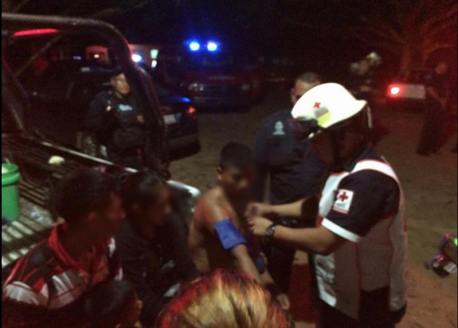 La Cruz Roja Mexicana rescató a varios migrantes. (Foto:Cruz Roja Mexicana)