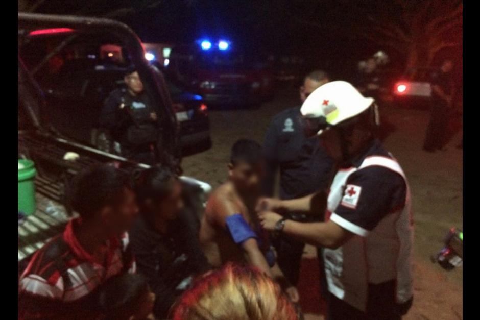Otro guatemalteco se encuentra en un estado de salud crítico en el Hospital de Veracruz. (Foto: Twitter, Cruz Roja Mexicana)