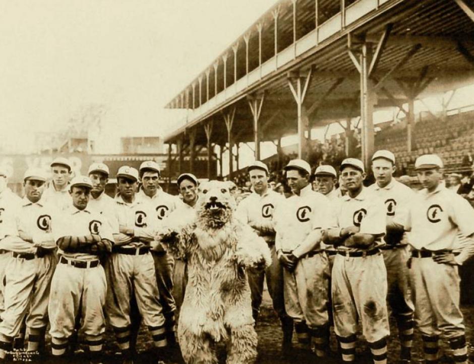 Equipo de 1908 de los Cubs. (Foto: AFP)