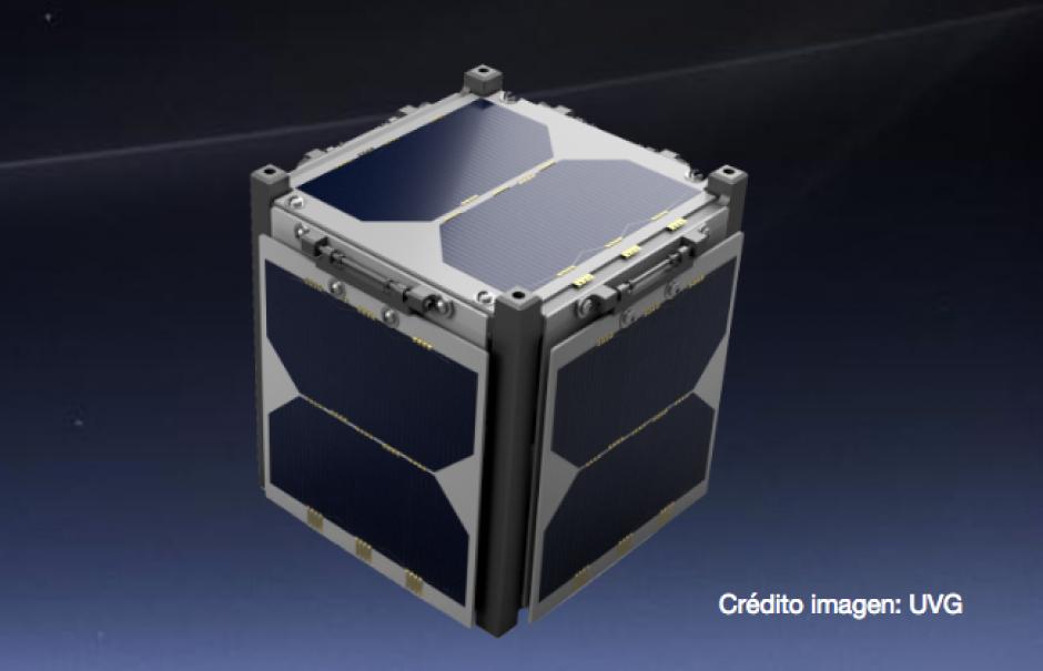 El CubeSat sería lanzado al espacio a finales de 2018. (Foto: UVG)