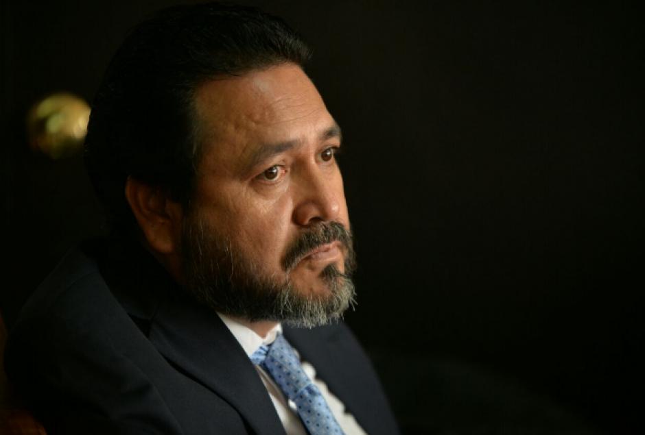 González y el exdiputado Gudy Rivera enfrentan un debate oral por tráfico de influencias. (Foto: Wilder López/Soy502)