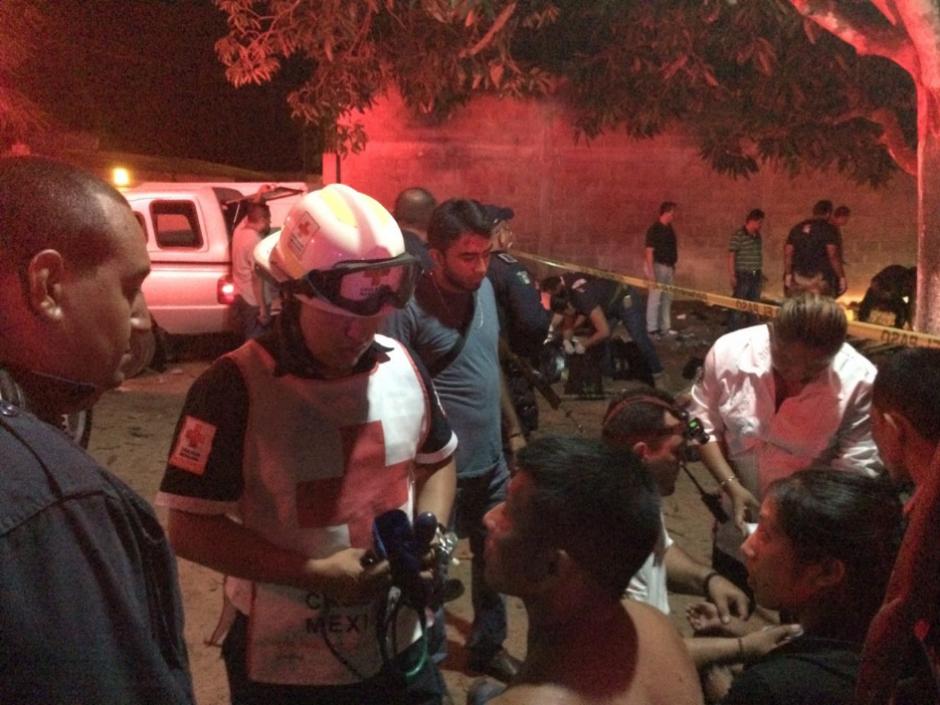 Tres guatemaltecos murieron en su travesía por llegar a México. (Foto: Twitter, Cruz Roja Mexicana)