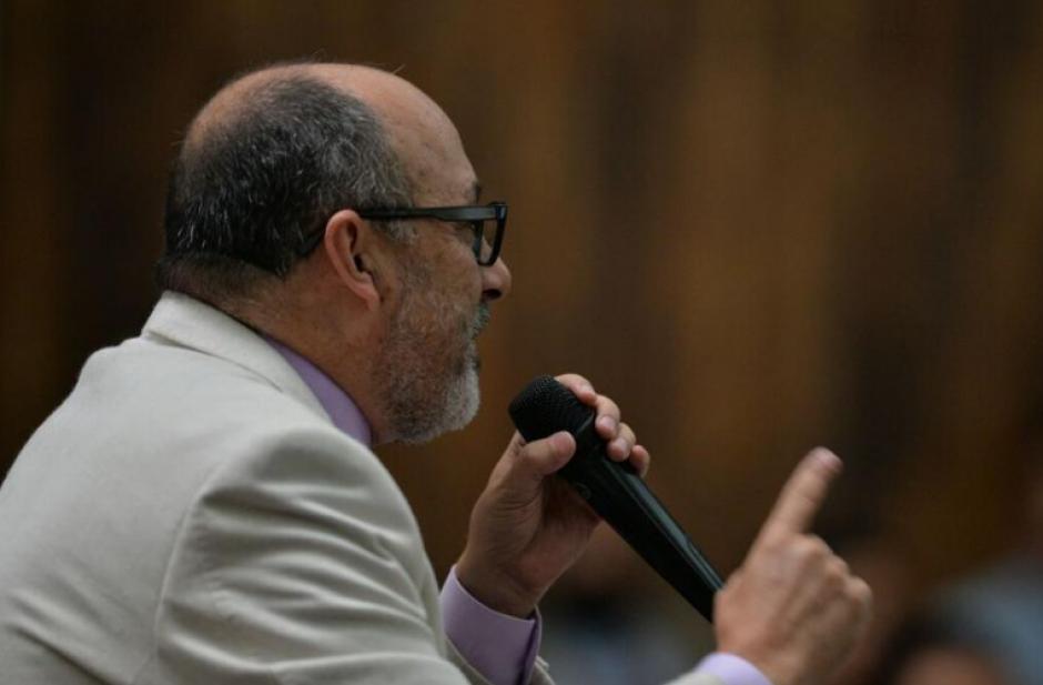 Moisés Galindo decidió recientemente dejar la defensa de Pérez por falta de pago. (Foto: Archivo/Soy502)