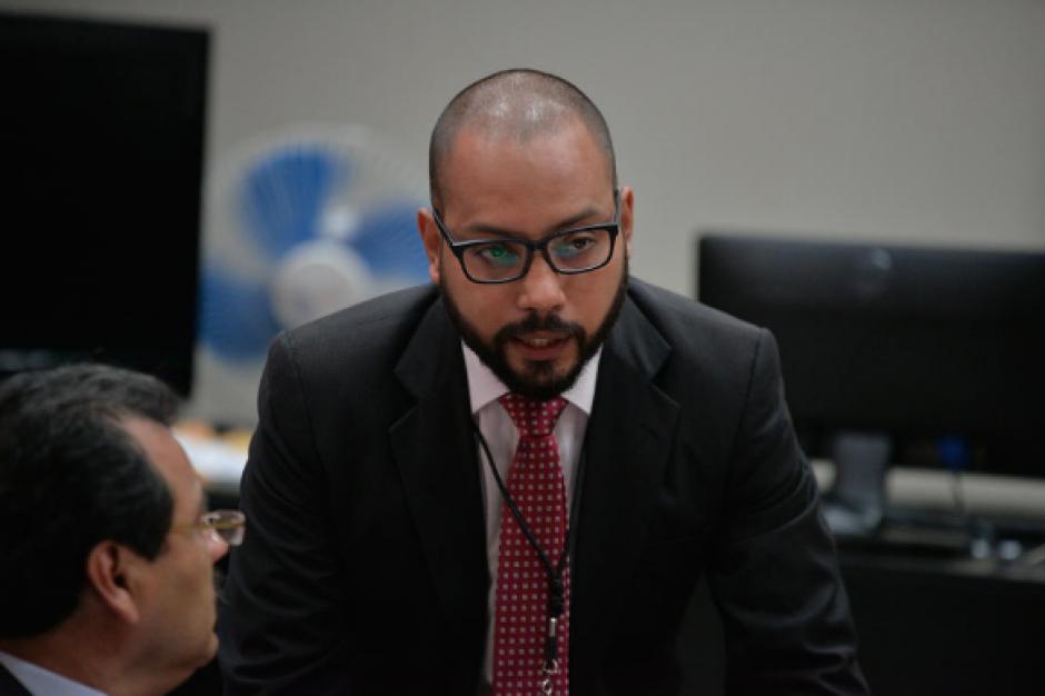 Fernando Guerra también estuvo a cargo de la defensa de la exvicepresidenta. (Foto: Archivo/Soy502)