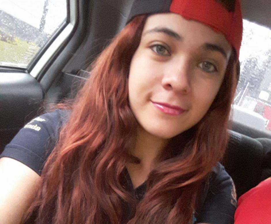 La joven supuestamente fue secuestrada en la capital. (Foto: Facebook/Lucía Samayoa)