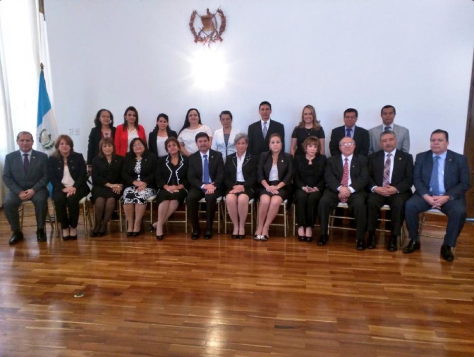 El galardón fue entregado a algunos seleccionados del personal administrativo del OJ. (Foto: OJ)
