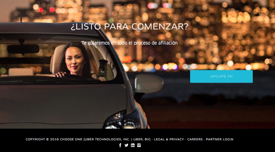 Con pocos requisitos se podrá iniciar a ganar dinero con el vehículo. (Foto: Uber)