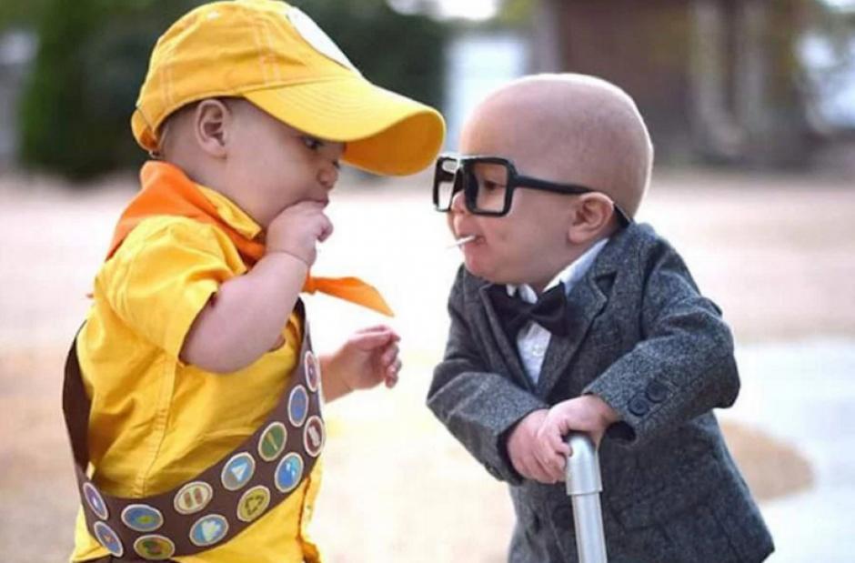 No importa la edad, hay disfraces para todos los tamaños. (Foto: sopitas.com)