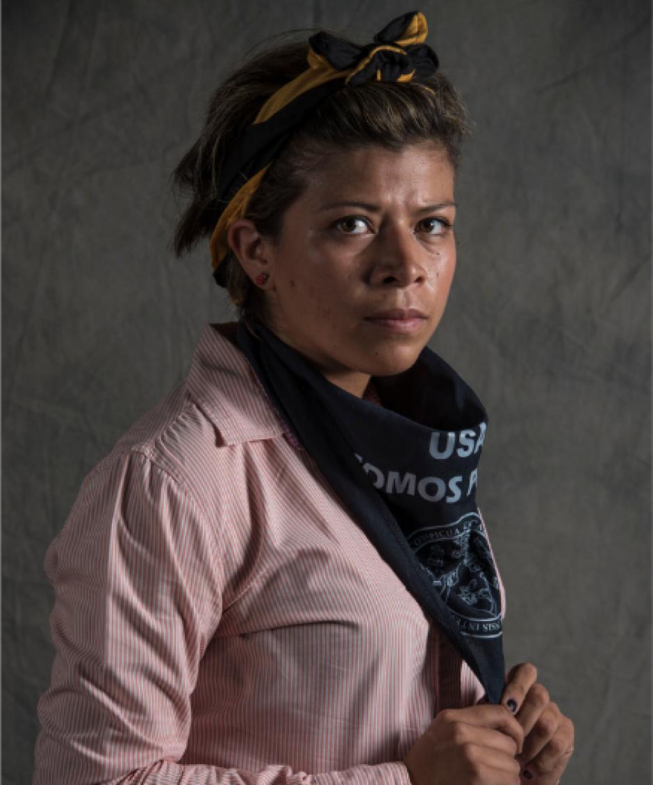 Daniela Salamanca, de 25 años, es modeladora 3D y estudiante de arquitectura. (Foto: Oliver de Ros/The New York Times)
