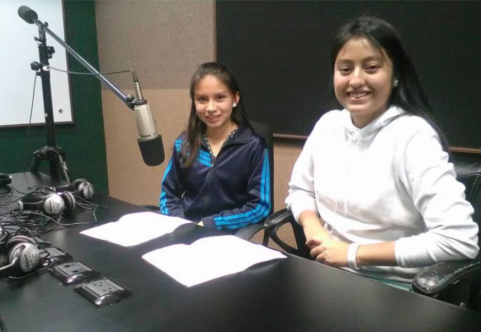 Las jóvenes darán a conocer la situación que enfrentan las niñas en Guatemala. (Foto: Las Niñas Lideran)