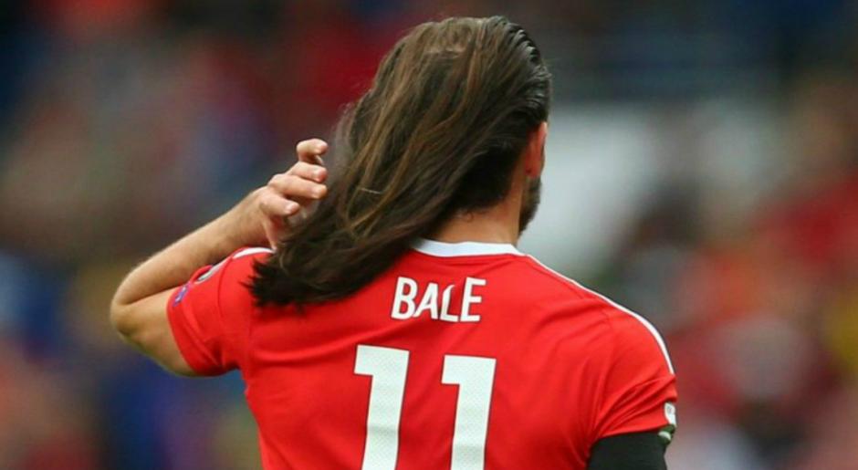 Por fin pudimos ver el pelo suelto de Gareth. (Foto: AFP)