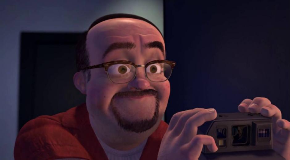 Muchos compararon al hombre con este personaje de Disney. (Foto: www.youtube.com)