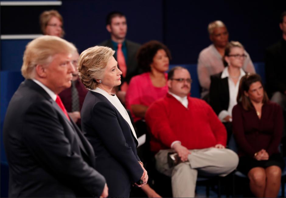 Durante el debate figura en varias de las postales del evento. (Foto: jezebel.com)