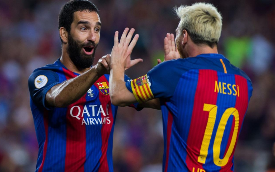 Arda Turan ha sido el principal sustituto de Messi. (Foto: Sport.es)