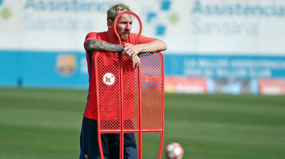 Leo entrenará al máximo el jueves. (Foto: Independent.uk)