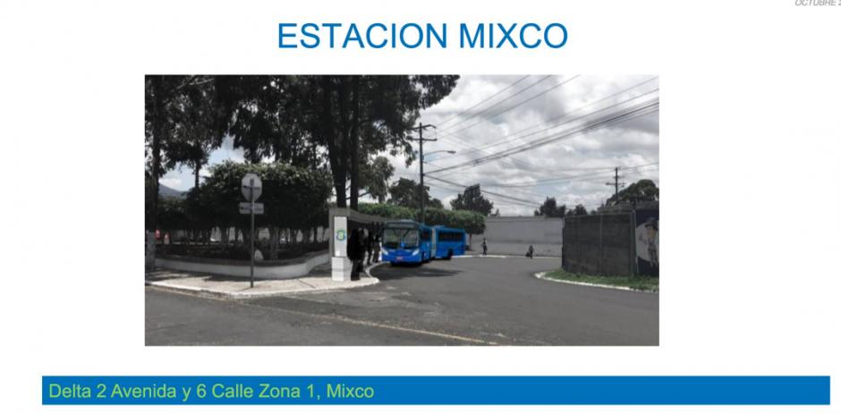 En horas pico los buses saldrán de la estación en Mixco. (Foto: Neto Bran)
