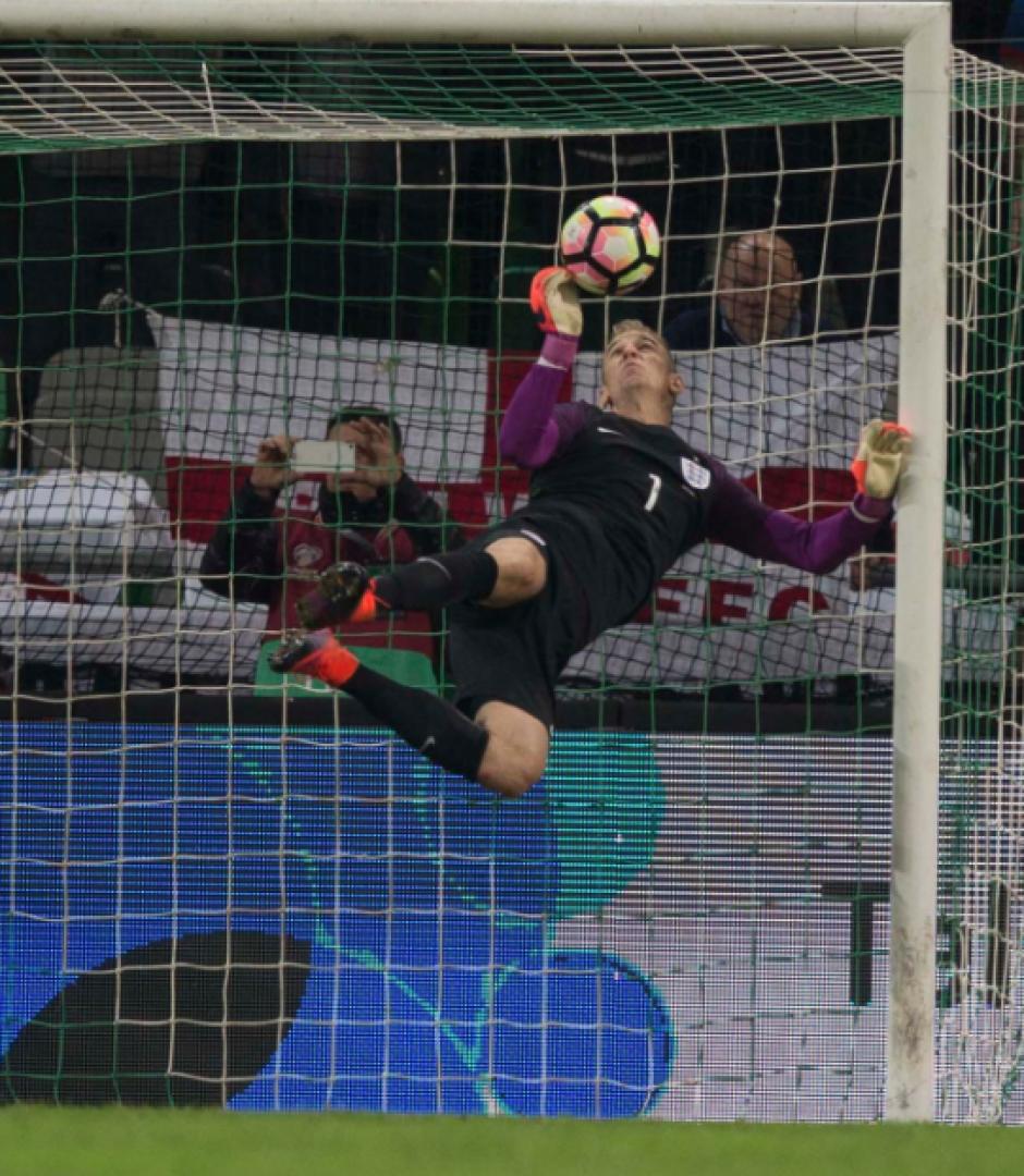 La acción salvó a Inglaterra de una derrota. (Foto: AFP)