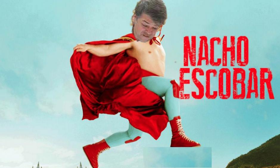 Las películas de Nacho Libre también fueron usadas para memes. (Foto: Facebook/Ronald Mackay)