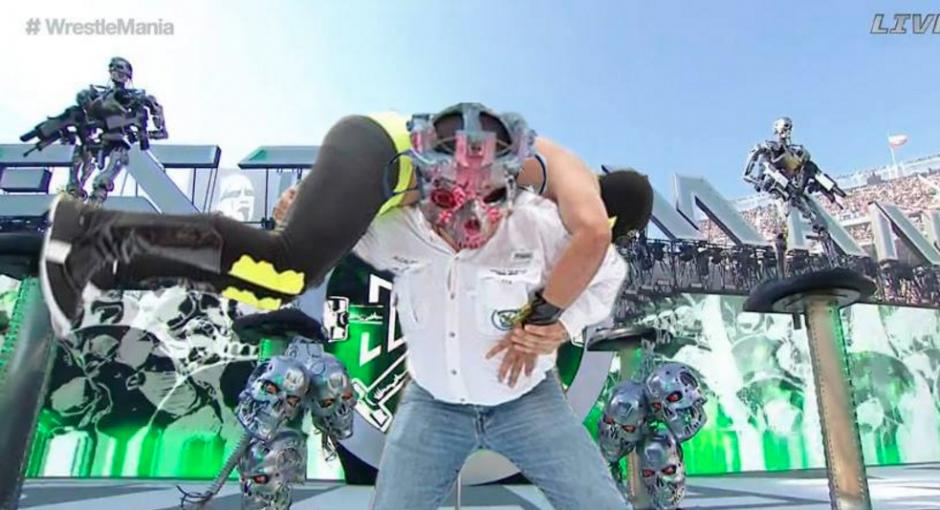 La popular lucha libre se hizo viral con el alcalde de Villa Nueva. (Foto: Facebook/Ronald Mackay)