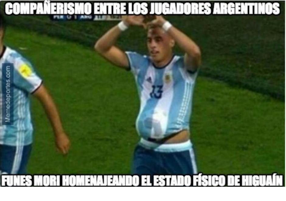 De nuevo, Higuaín fue uno de los principales objetivos. (Memedeportes.com)